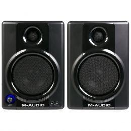 AV40 - Monitor de Referência 20W Studiophile AV 40 ( Par ) - M-Audio