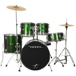 Bateria Ac�stica Bumbo 18 Polegadas Talent VPD918 Verde - Vogga
