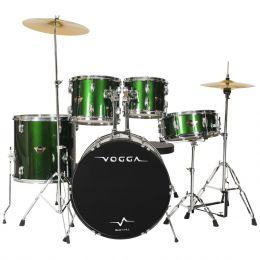 Bateria Acústica Bumbo 20 Polegadas Talent VPD920 Verde - Vogga