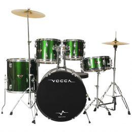 Bateria Acústica Bumbo 22 Polegadas Talent VPD922 Verde - Vogga