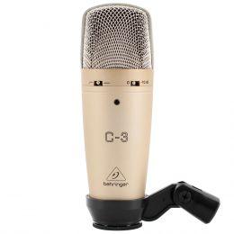 Microfone c/ Fio Condensador - C 3 Behringer