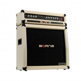 Cabeçote 100W + Cubo Passivo Fal 4x8 Pol 100W p/ Guitarra - Gladiator 1200 Borne