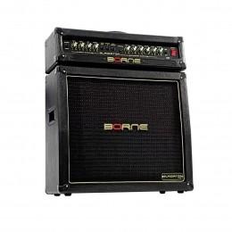 Cabeçote 200W + Cubo Passivo Fal 2x12 Pol 300W p/ Guitarra - Warrior 200 Borne