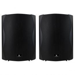 Caixa Passiva p/ Som Ambiente Fal 6 Pol 60W c/ Suporte (Par) - PS 6 Plus Outdoor Frahm