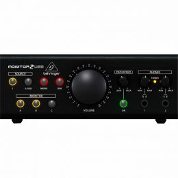 Controlador de Estúdio 2 canais - Monitor 2 USB Behringer