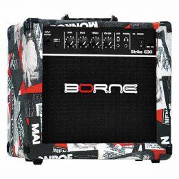 Amplificador Combo p/ Guitarra Strike G 30 Hollywood - Borne