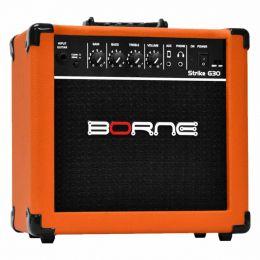 Amplificador Combo p/ Guitarra Strike G 30 Laranja - Borne