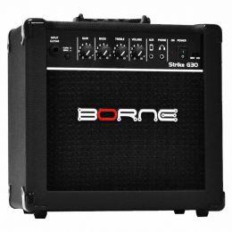 G30 - Amplificador Combo p/ Guitarra Strike G 30 Preto - Borne