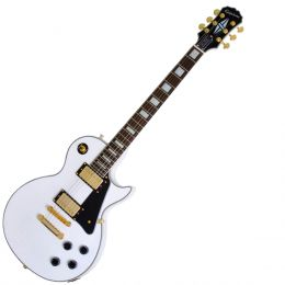 Guitarra Les Paul Custom PRO Alpine White - Epiphone