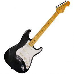 Guitarra Strato Stonehenge GM222N MBK Preta Metálica - Michael