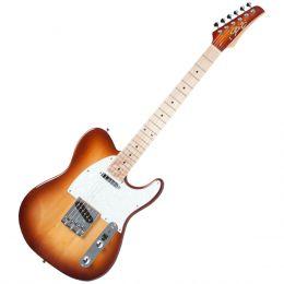 Guitarra Television RW Honeyburst c/ Escudo Branco Perolado - Seizi
