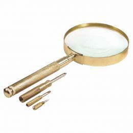 Kit Lupa de Mão + Chave de Fenda 599909 - CSR