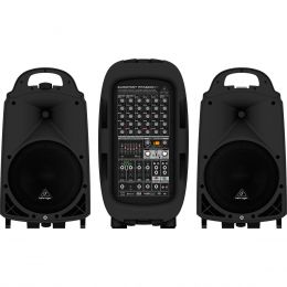 Kit P.A Portátil 2000W c/ Bluetooth EUROPORT PPA2000BT - Behringer