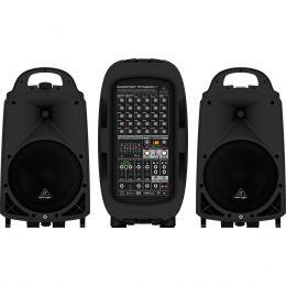 Sistema de PA Portátil 2000W c/ Bluetooth - Europort PPA 2000 BT Behringer