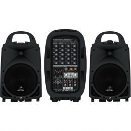 Kit P.A Portátil 500W c/ Bluetooth EUROPORT PPA500BT - Behringer