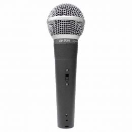 Microfone c/ Fio de Mão LS 58 - Le Son