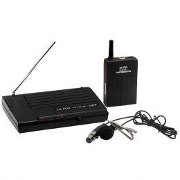 LS801LT - Microfone s/ Fio Lapela UHF LS 801 LT - Le Son