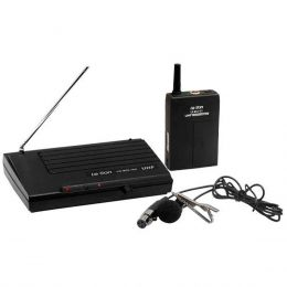 Microfone s/ Fio Lapela UHF LS 801 LT - Le Son