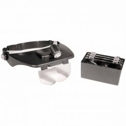 Lupa de Cabeça c/ Kit de Lentes MG 81001 - CSR