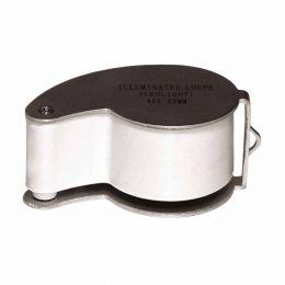 Lupa p/ Relojoeiro / Joalheiro 25mm c/ Iluminação MG 21011 - CSR
