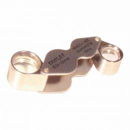 Lupa de Bolso c/ 2 Lentes ( 18mm e 12mm ) MG 22181 - CSR