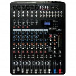 Mesa de Som 12 Canais Balanceados (6 XLR + 6 P10) c/ USB Play / Efeito / Phantom / 2 Auxiliares - CSR 124 CX CSR