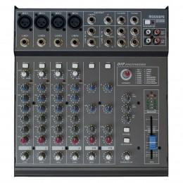 Mesa de Som 8 Canais (4 XLR Balanceados + 4 P10) c/ 200W / Efeito / Phantom / 1 Auxiliar - 8200 PD CSR