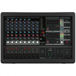 Mesa de Som / Mixer 10 Canais Amplificado 500W Europower PMP580S 110V - Behringer