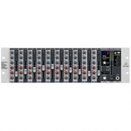 Mesa de Som 12 Canais Balanceado (8 XLR + 4 P10) c/ Efeito / Phantom / 2 Auxiliares Eurorack PRO RX1202FX Behringer 110V