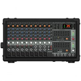 Mesa de Som / Mixer 14 Canais Amplificado 800W Europower PMP2000 110V - Behringer