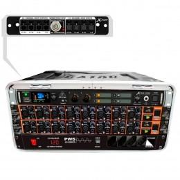Mesa digital 16 Canais / 16 Auxiliares X 32 Core Modular Compacta Portátil c/ Case - X 32 Core 16 MK VR
