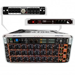 Mesa digital 24 Canais / 16 Auxiliares X 32 Core Modular Compacta Portátil c/ Case - X 32 Core 24 MK VR