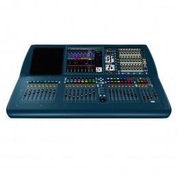 Mesa Digital 56 canais com DL251 / 08 FX Return / 16 Auxiliares / 08 Matrix / 28 Faders de 100mm Motorizado com Case - Pro 2 MIDAS