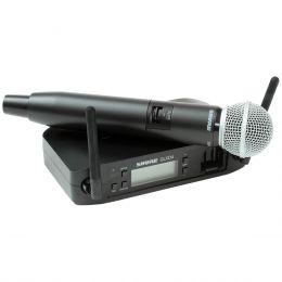 Microfone s/ Fio de Mão GLXD24BR/SM58 - Shure