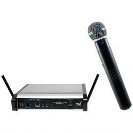 Microfone s/ Fio de Mão UHF MS-115-UHF PLUS - TSI