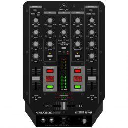Mixer DJ 2 Canais Pro Mixer VMX200USB 110V - Behringer