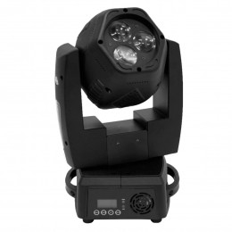 Moving Head do tipo Beam 6 LEDs 6x8W - DUO 300 FREE PLS
