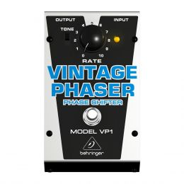 Pedal Phaser p/ Guitarra - VP 1 Behringer