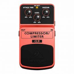 Pedal para Guitarras Compressor / Limiter CL9 - Behringer