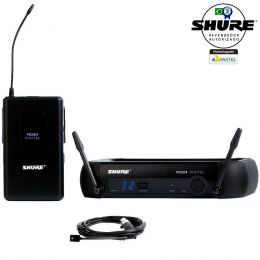 PGXD14WL93 - Microfone s/ Fio Lapela UHF Digital PGXD 14 WL93 - Shure