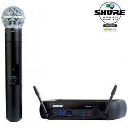 PGXD24BRSM58 - Microfone s/ Fio de Mão PGXD 24BR SM58 - Shure