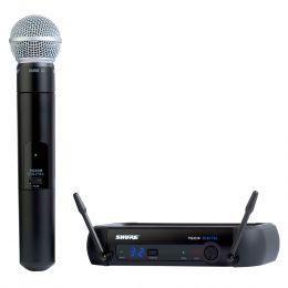 PGXD24BRSM58 - Microfone s/ Fio de Mão UHF Digital PGXD 24BR SM58 - Shure