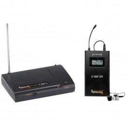 Ponto Eletrônico s/ Fio UHF c/ Fone de Ouvido In-ear - C IE 6 U Compatível