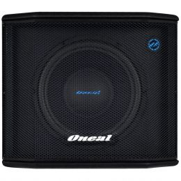 Subwoofer Ativo 200W Powered Sub Box OPSB 2112 Preto - Oneal