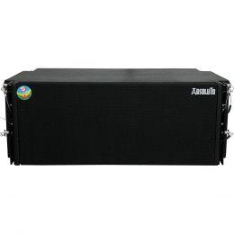Caixa Ativa Line Array 500W AB 208 Preto - Leacs