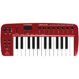 Teclado Controlador MIDI 25 Teclas c/ USB - U CONTROL UMA 25 S Behringer