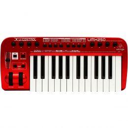 Teclado Controlador MIDI / USB U-CONTROL UMX250 - Behringer