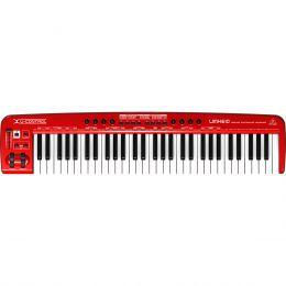 Teclado Controlador MIDI / USB U-CONTROL UMX610 - Behringer