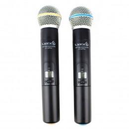 Microfone s/ Fio de Mão Duplo UHF - UHX PRO 02 MM Lyco