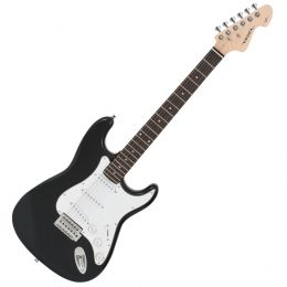 Guitarra Strato VCG601N Preto Metálico - Vogga
